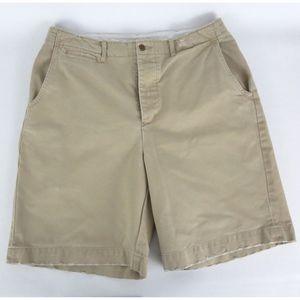 Polo Ralph Lauren Sz 34 Standard Issue Shorts Flat